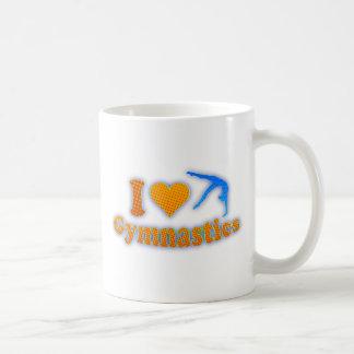 I LOve Gymnastics Orange Shirt Bag Gifts Coffee Mug