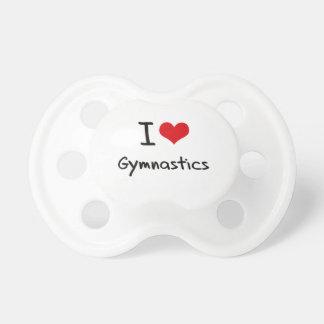 I Love Gymnastics Pacifier