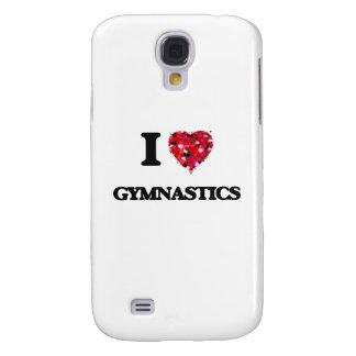 I Love Gymnastics Samsung Galaxy S4 Covers