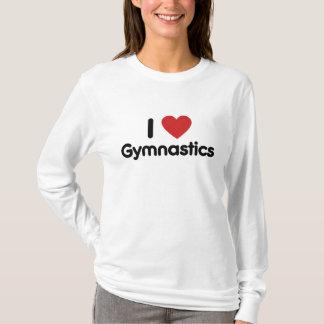 I Love gymnastics T-Shirt