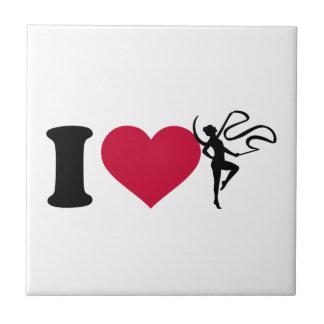 I love Gymnastics Tile
