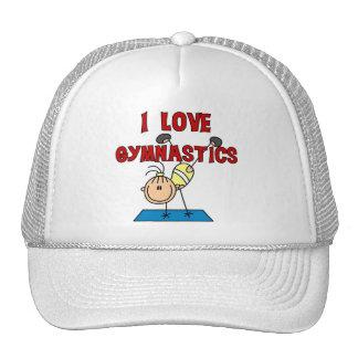 I Love Gymnastics Tshirts and Gifts Mesh Hat