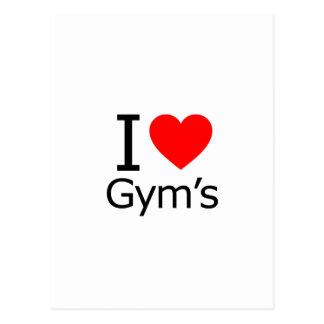 I Love Gym's Postcards