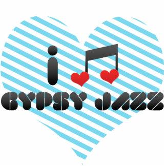 I Love Gypsy Jazz Acrylic Cut Outs