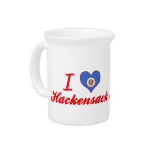 I Love Hackensack Minnesota Pitchers