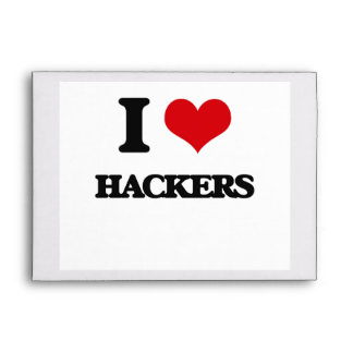 I love Hackers Envelope