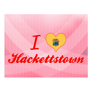 I Love Hackettstown New Jersey Post Cards