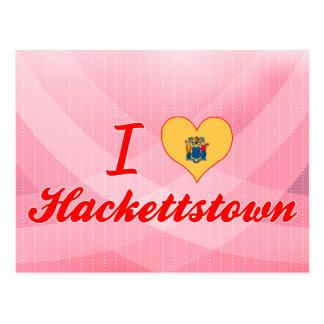 I Love Hackettstown, New Jersey Postcard