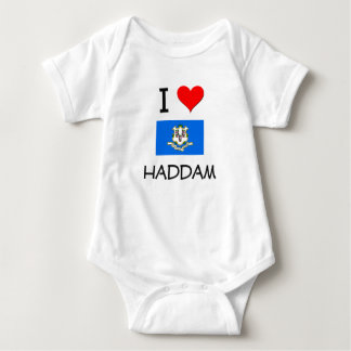 I Love Haddam Connecticut T-shirt