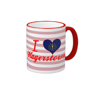 I Love Hagerstown, Indiana Coffee Mug