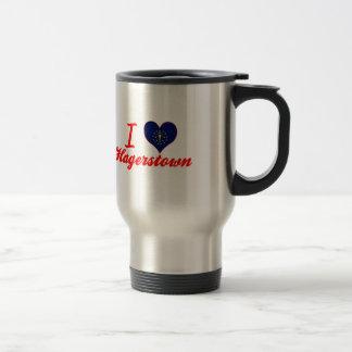 I Love Hagerstown, Indiana Mug