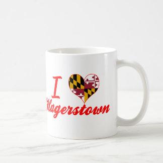 I Love Hagerstown, Maryland Coffee Mug