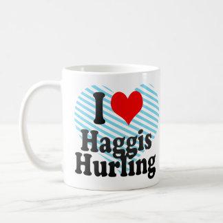I love Haggis Hurling Coffee Mug