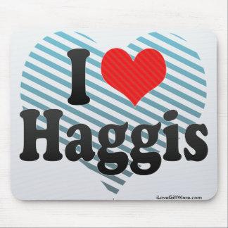 I Love Haggis Mouse Pad
