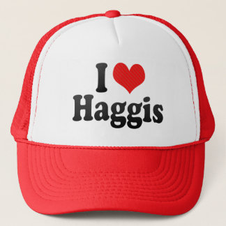 I Love Haggis Trucker Hat