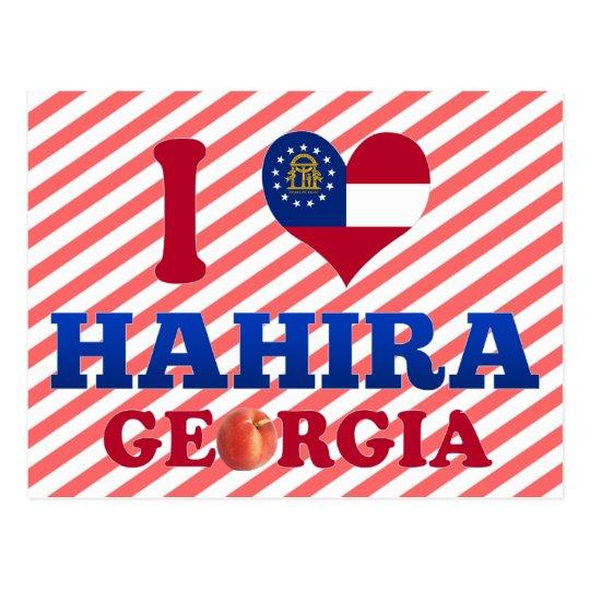 I Love Hahira, Georgia Postcard