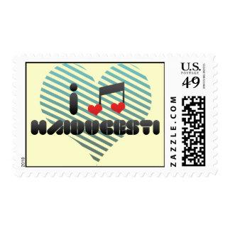 I Love Haiducesti Stamps