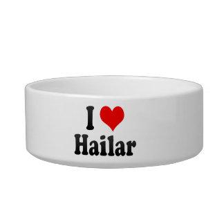 I Love Hailar, China. Wo Ai Hailar, China Cat Water Bowls