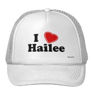 I Love Hailee Trucker Hat