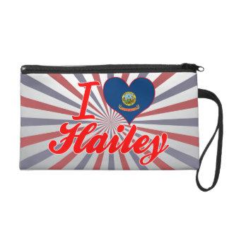 I Love Hailey Idaho Wristlet