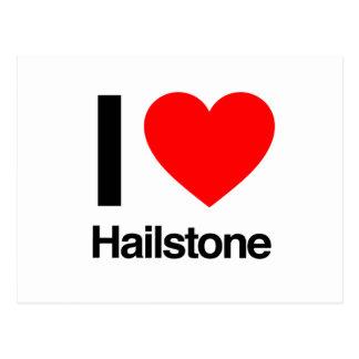 i love hailstone post cards