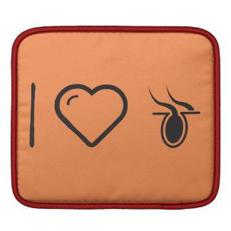 I Love Hair Burns Sleeve For iPads