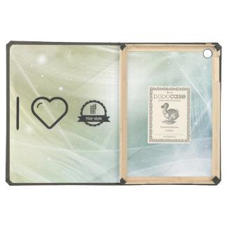I Love Hair Certifiers iPad Air Cover
