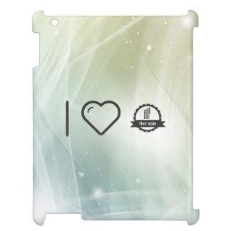 I Love Hair Certifiers iPad Cover