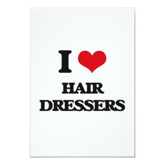 I love Hair Dressers Custom Invitations