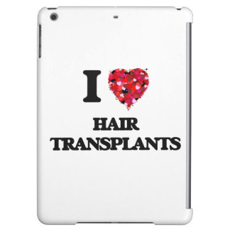 I love Hair Transplants Case For iPad Air