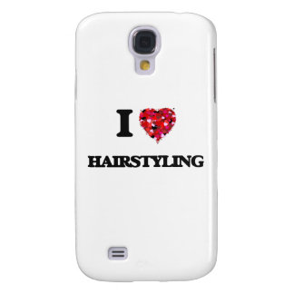 I Love Hairstyling Galaxy S4 Case