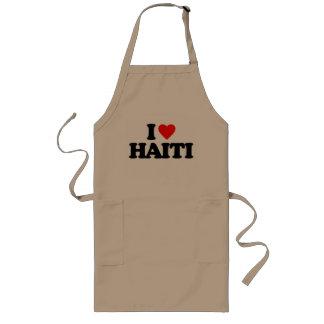 I LOVE HAITI APRON