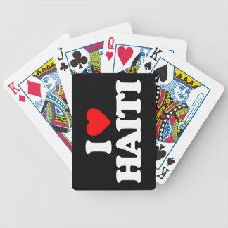I LOVE HAITI BICYCLE CARD DECKS