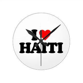 I LOVE HAITI CLOCKS