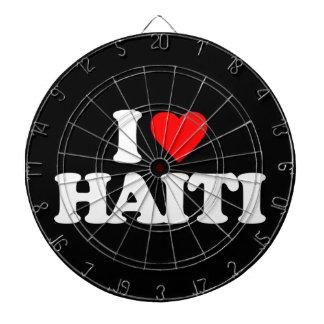 I LOVE HAITI DART BOARD
