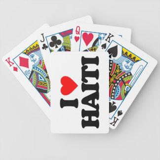 I LOVE HAITI DECK OF CARDS