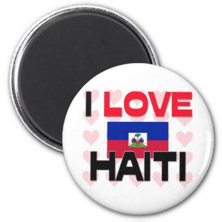 I Love Haiti Fridge Magnet