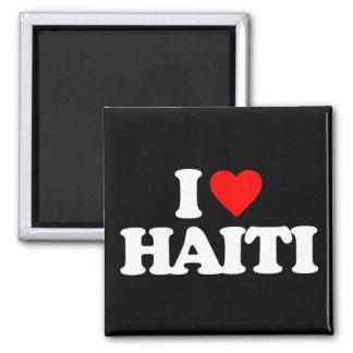I LOVE HAITI FRIDGE MAGNETS