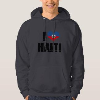 I LOVE HAITI HOODIE