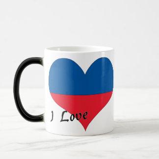 I love Haiti Magic Mug