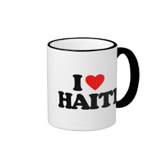 I LOVE HAITI COFFEE MUG