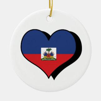 I Love Haiti Ornament