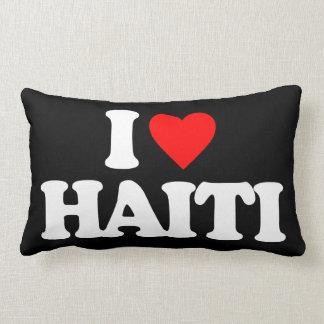 I LOVE HAITI PILLOW