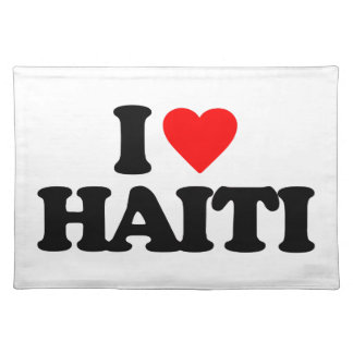 I LOVE HAITI PLACEMAT