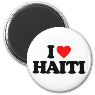 I LOVE HAITI REFRIGERATOR MAGNETS