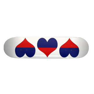 I Love Haiti Skateboard Decks