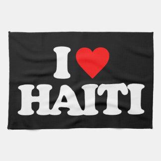 I LOVE HAITI TOWEL