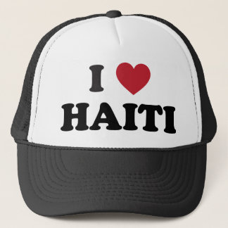 I Love Haiti Trucker Hat