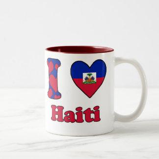 I love Haiti Two-Tone Coffee Mug