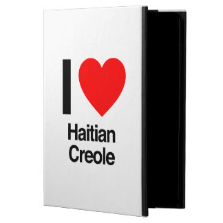 i love haitian creole iPad air case
